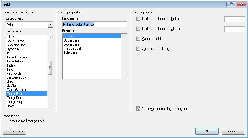 Newforma Info Exchange Twelfth Edition Help Modify The Supplied
