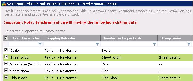 Newforma Project Center Twelfth Edition Help - Use Newforma